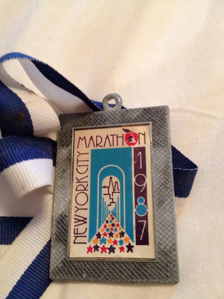 My Dad's Marathon Medal