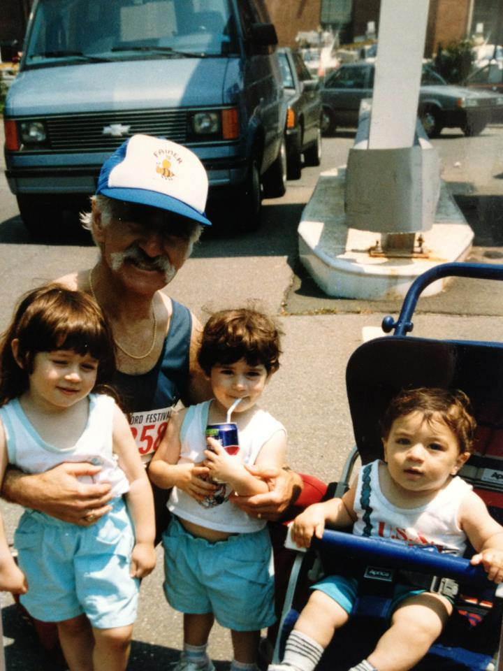 Victoria Negri With Dad (I'm in the middle)